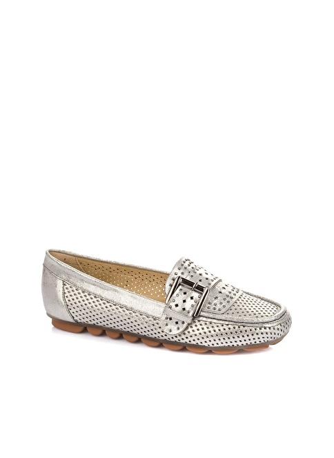 Elle Loafer Ayakkabı Gümüş